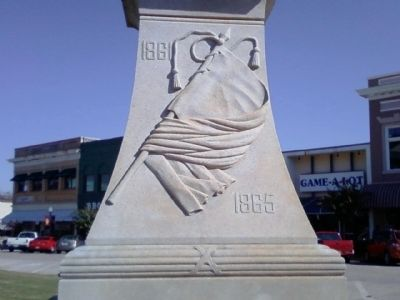 Butts County Confederate Monument Marker image. Click for full size.