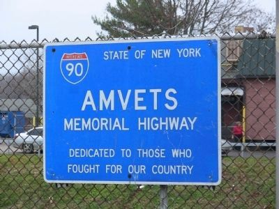 Amvets Memorial Highway image. Click for full size.