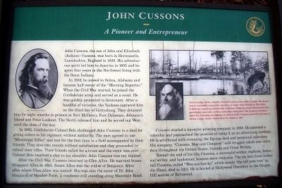 John Cussons Marker image. Click for full size.