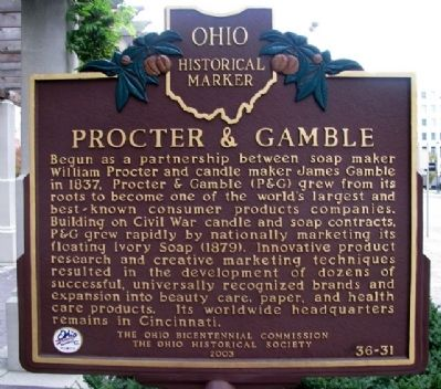 Procter & Gamble Marker image. Click for full size.