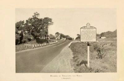 Old Deerfield Marker image. Click for full size.