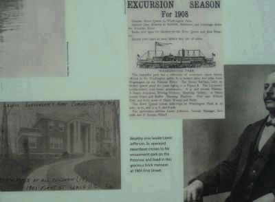 Close up of the home of entrepreneur Lew Jefferson, Sr. image. Click for full size.