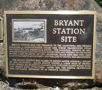 Bryant Station Site Marker image. Click for full size.