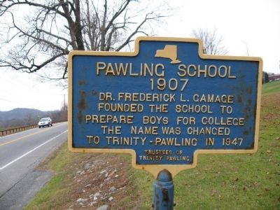 Pawling School 1907 Marker image. Click for full size.