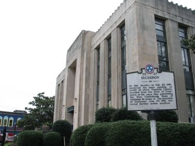 Franklin County Court House image. Click for full size.