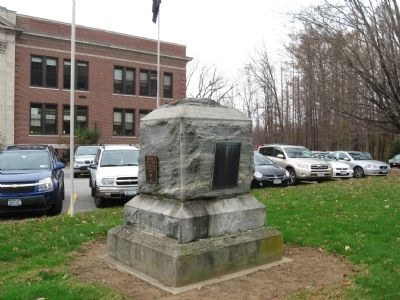North Salem World War II Memorial image. Click for full size.