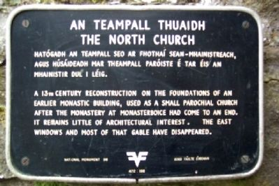 The North Church / An Teampall Thuaidh Marker image. Click for full size.