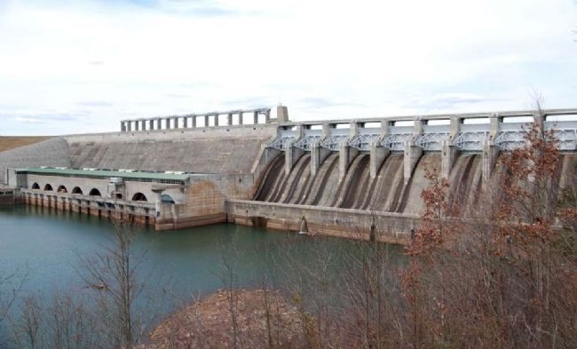 Richard B. Russell Dam image. Click for full size.