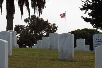Fort Rosecrans National Cemetery image. Click for full size.