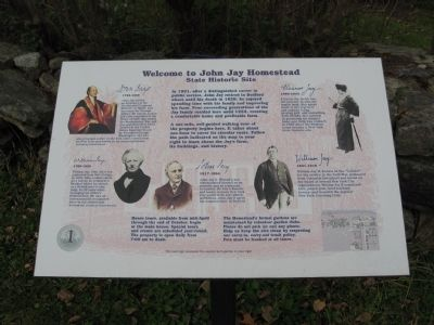 Welcome to John Jay Homestead Marker image. Click for full size.