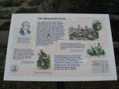 The Homestead Farm Marker image. Click for full size.