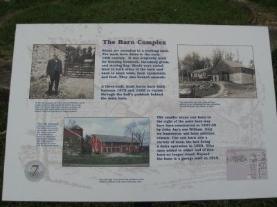 The Barn Complex Marker image. Click for full size.