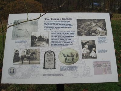 The Terrace Garden Marker image. Click for full size.