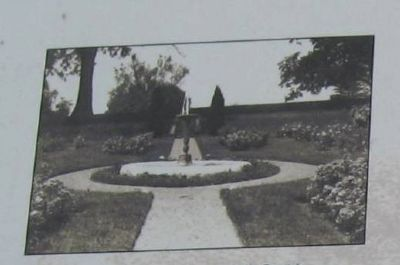 The Fountain Garden, ca. 1915 image. Click for full size.