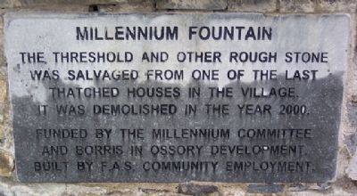 Millenium Fountain Marker image. Click for full size.
