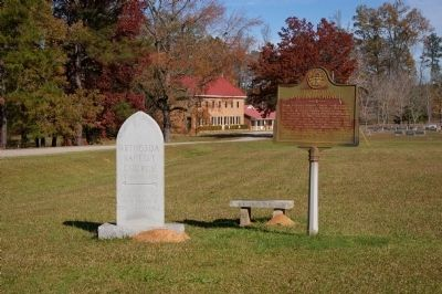 Bethesda Baptist Church Marker image. Click for full size.