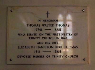 Thomas Walter Thomas Memorial image. Click for full size.