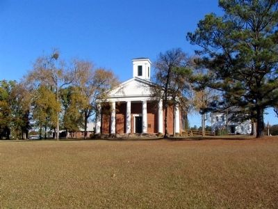 """Old Mercer"" Chapel, built in 1840 image. Click for full size."