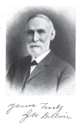 James W. Dillon (1826–1913) image. Click for full size.