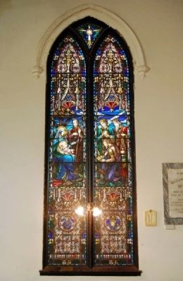 Trinity Episcopal Church -<br>Epiphany Window image. Click for full size.
