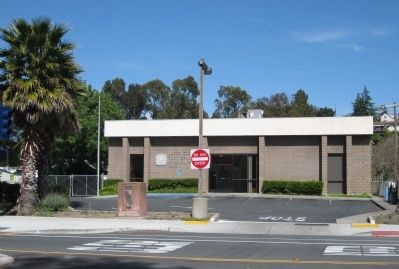 The De Anza Expedition in Rodeo Marker and Rodeo Post Office image. Click for full size.