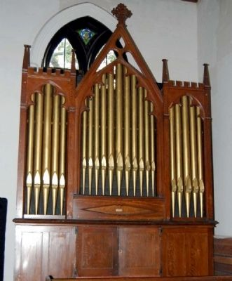 John Baker Organ -<br>Dates from 1860 image. Click for full size.