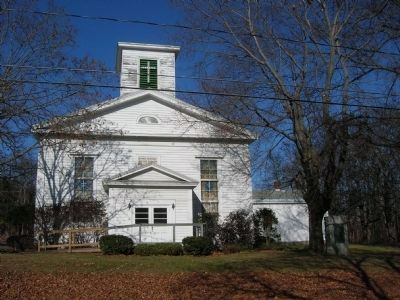 The Boght Church; Built 1847 image. Click for full size.