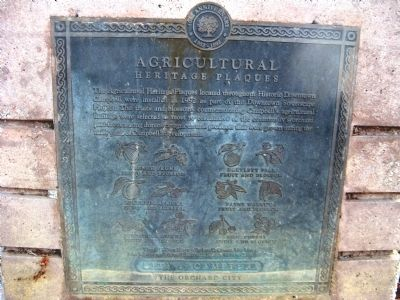 Agricultural Heritage Plaques Marker image. Click for full size.