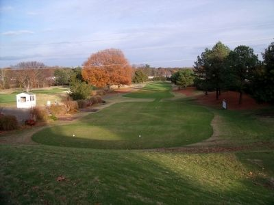 Belmont Golf Course (1st hole) image. Click for full size.