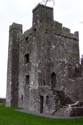 Bective Abbey Tower image. Click for full size.