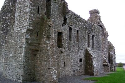 Bective Abbey Wall Buttresses image. Click for full size.