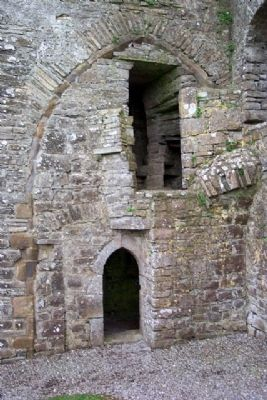 Bective Abbey Structural Changes image. Click for full size.
