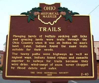 Trails Marker (Side A) image. Click for full size.