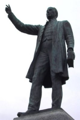 Reverend William Casey Statue image. Click for full size.
