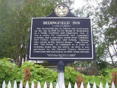 Bedingfield Inn Marker image. Click for full size.