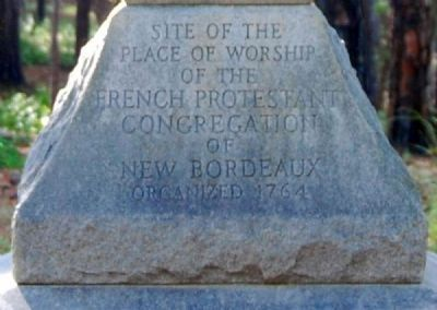 New Bordeaux Worship Site Marker image. Click for full size.