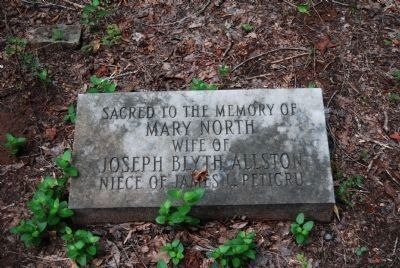 Mary North Tombstone image. Click for full size.