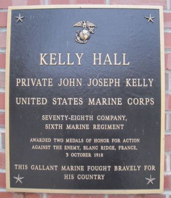 Kelly Hall Marker image. Click for full size.
