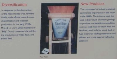 Dorn Mill Marker - Diversification/New Products image. Click for full size.