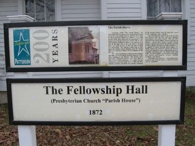 The Fellowship Hall Marker image. Click for full size.