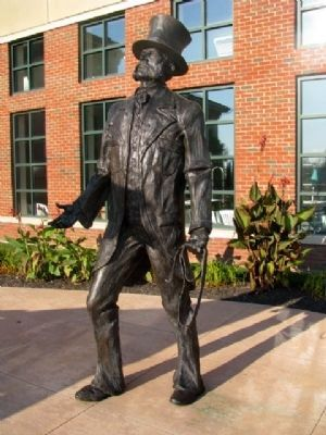 John S. Rarey Statue image. Click for full size.