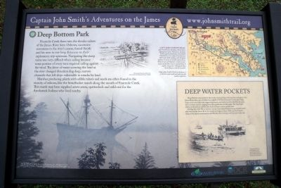 Deep Bottom Park Marker image. Click for full size.