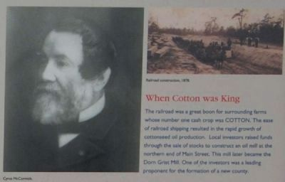 MACK Marker - When Cotton was King image. Click for full size.