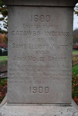 Catawba Indian Memorial image. Click for full size.