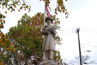 Fort Mill Confederate Memorial image. Click for full size.