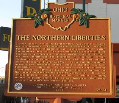 The Northern Liberties Marker (Side B) image. Click for full size.