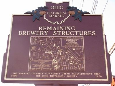 Remaining Brewery Structures Marker (Side B) image. Click for full size.