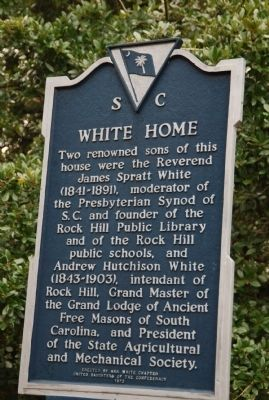 White Home Marker image. Click for full size.