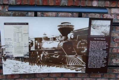 "The ""3C's"" Railroad Marker image. Click for full size."