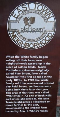 East Town Neighborhood Marker image. Click for full size.